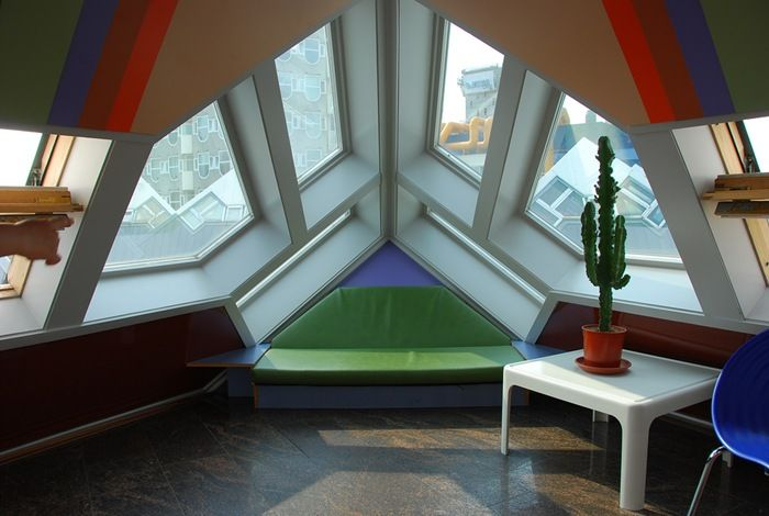 Inside the cubic houses