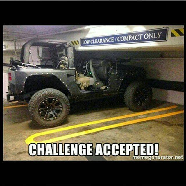 Jeep Parking Jeepmeme Jeep Memes Jeep Jeep Humor