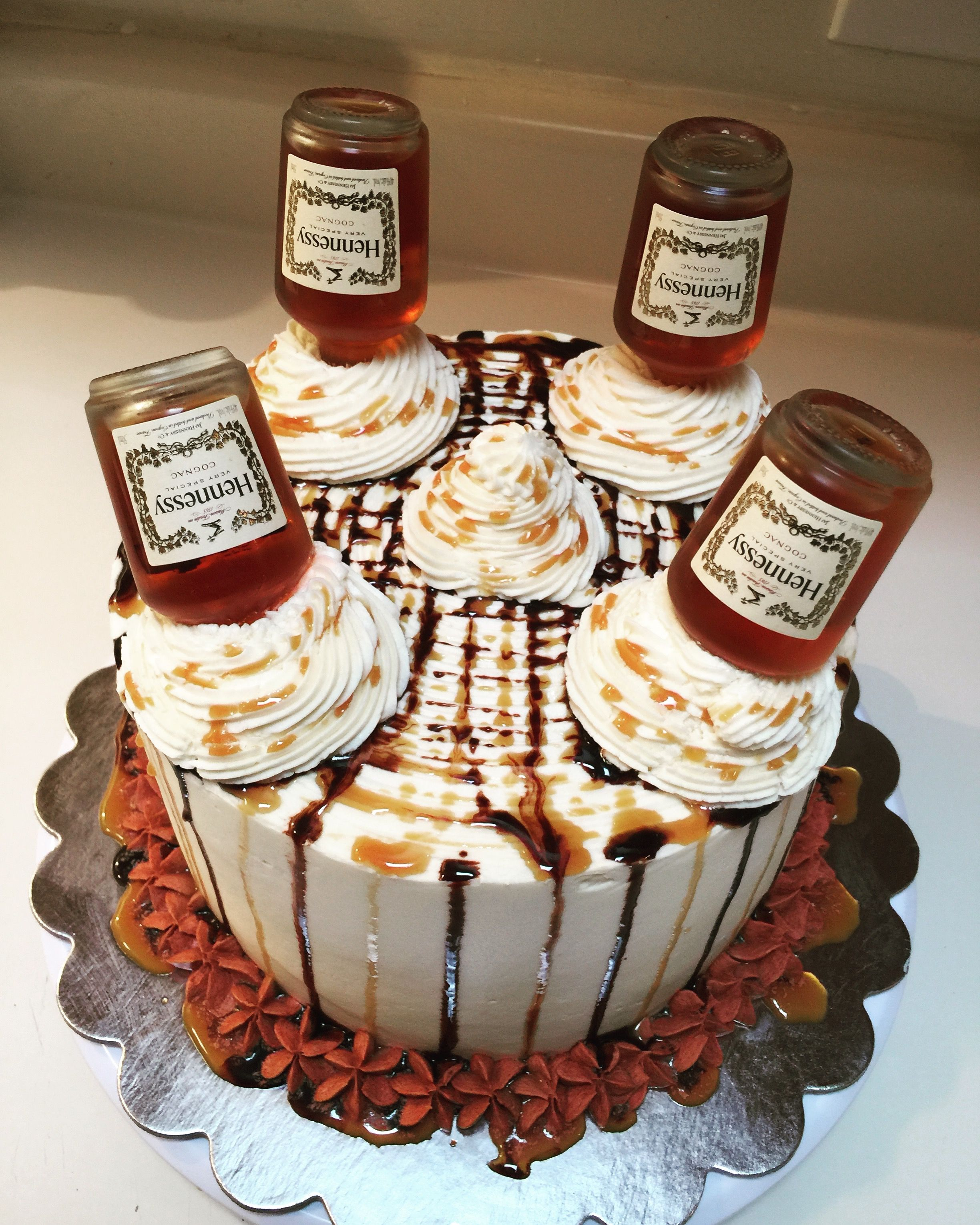 Hennessy Cake! | Ms. Ragin's Sweets! in 2019 | 23 birthday cake ...