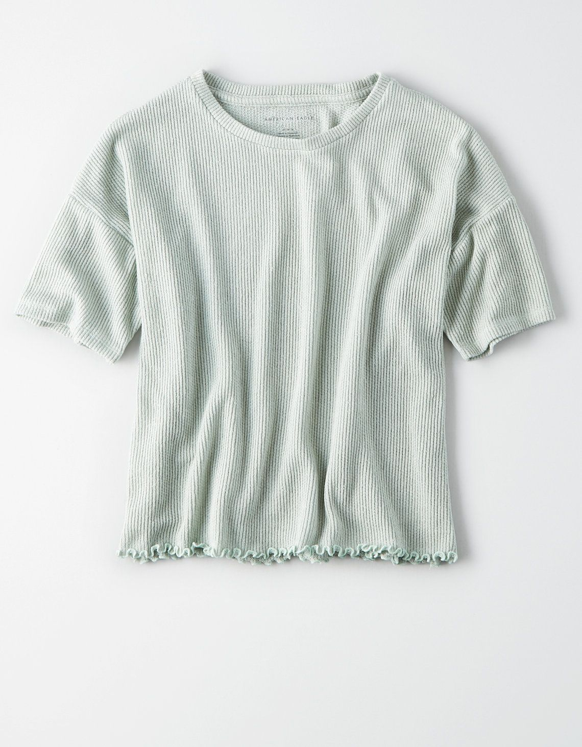 f3c38abfd AE Soft Boxy T-shirt, Dusty Sage in 2019 | Clothes | Me too shoes ...