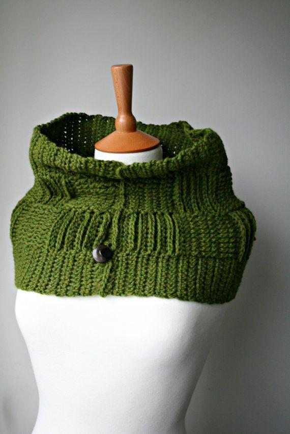 Crochet pattern, cowl scarf crochet pattern, cowl pattern (157)