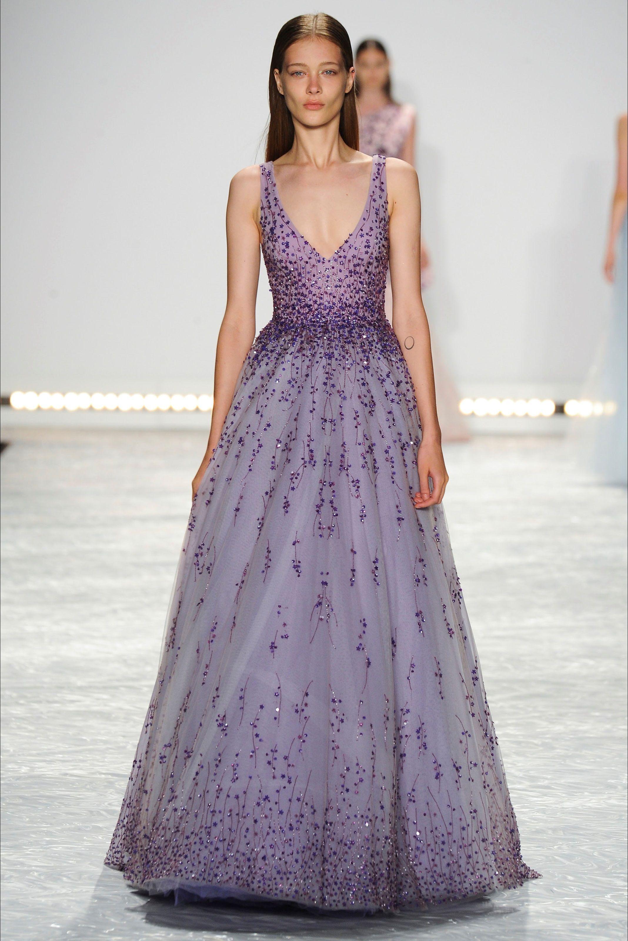 Sfilata Monique Lhuillier New York - Collezioni Primavera Estate 2015 - Vogue