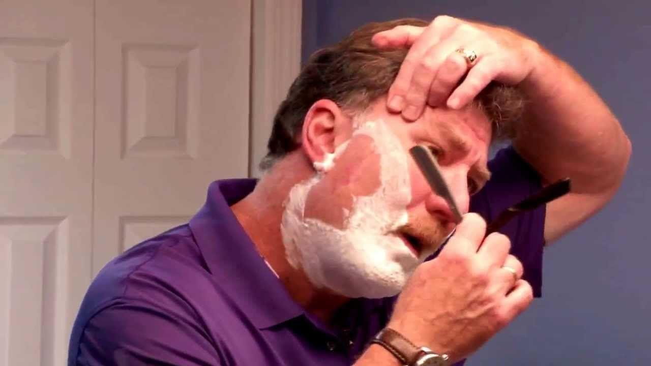 Best straight razor shaving tutorial for beginners