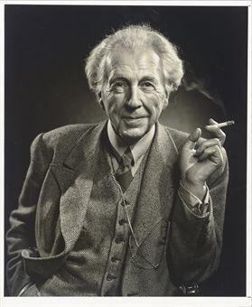 Frank Lloyd Wright by Yousef Karsh