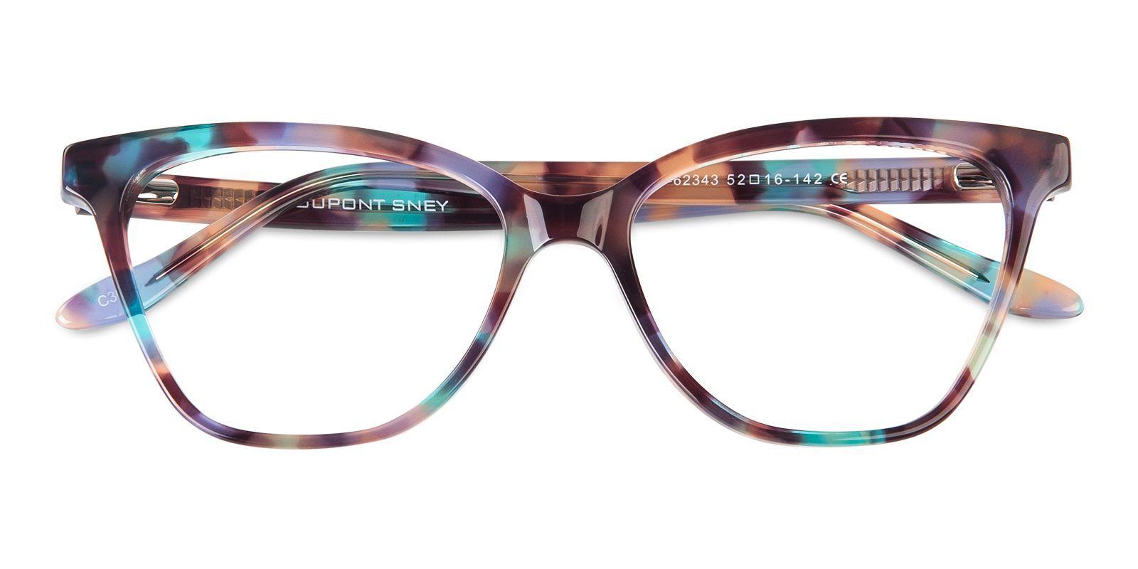 Poppy Cat Eye – Multicolor Eyeglasses