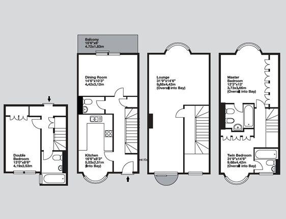 Cheval Knightsbridge London Apartment Rental Floor Plans London Apartment London Townhouse