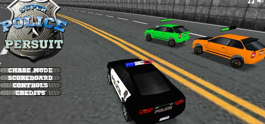لعبة مطاردة سيارات الشرطة 3d العاب فلاش ميزو Car, Play