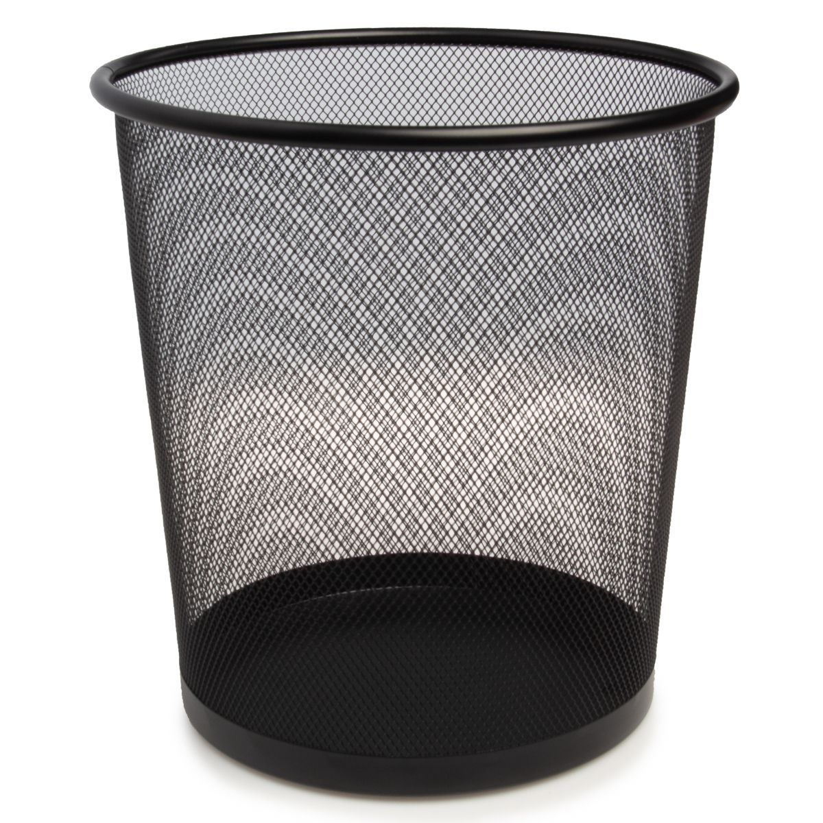 Simply Genius Metal Mesh Trash Can Wastebasket Home Office Bathroom Trash Can Bedroom Trash Can Trash Cans
