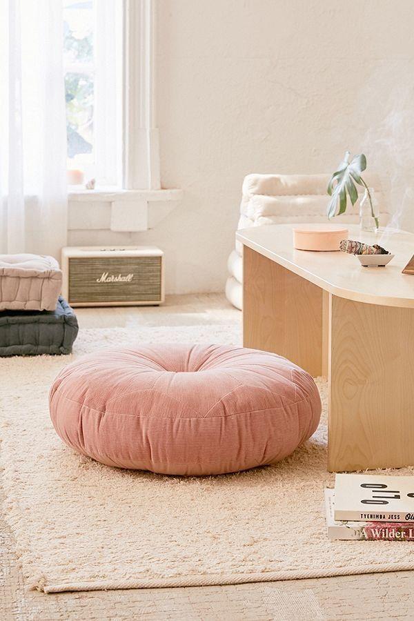 Moda Design Pouf.Corduroy Pillow Pouf Organizacion Decoracion De Unas