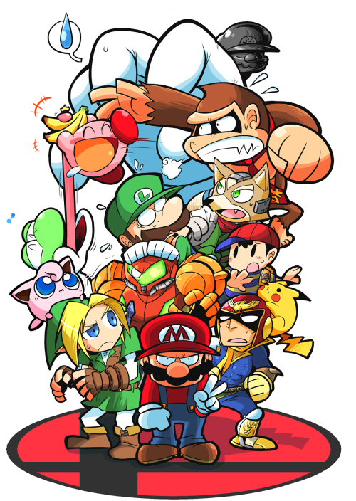 Kirby Stuff Super Smash Bros 64 Super Mario Art Super Smash Bros