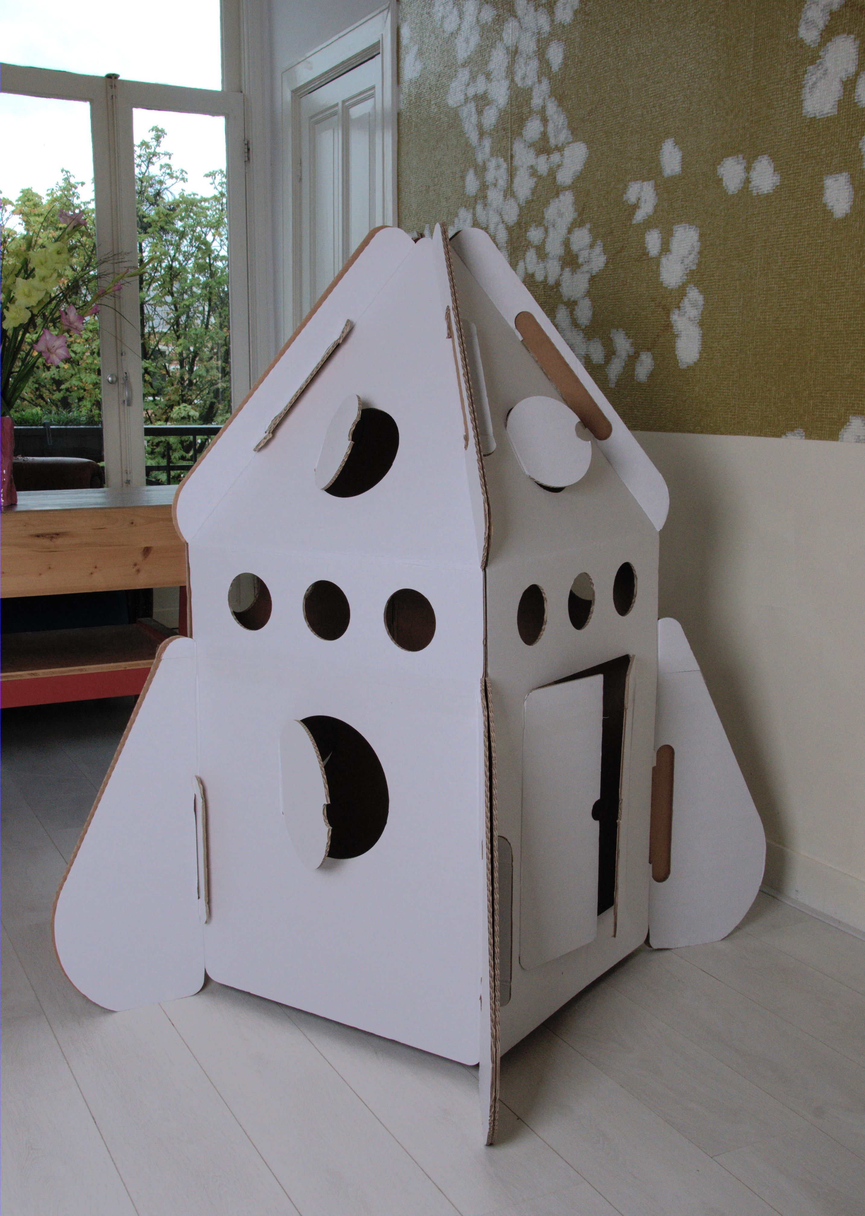 Cabane En Carton Diy stickere decorative pentru camera copilului pe www