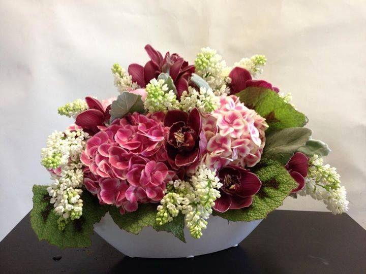 Dark Hued Floral Arrangement | Tropical floral