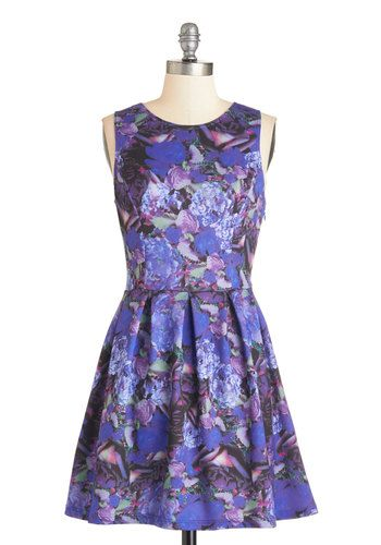 Takes Two to Tranquil Dress, @ModCloth