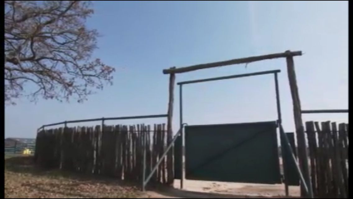 Fence and brow gate