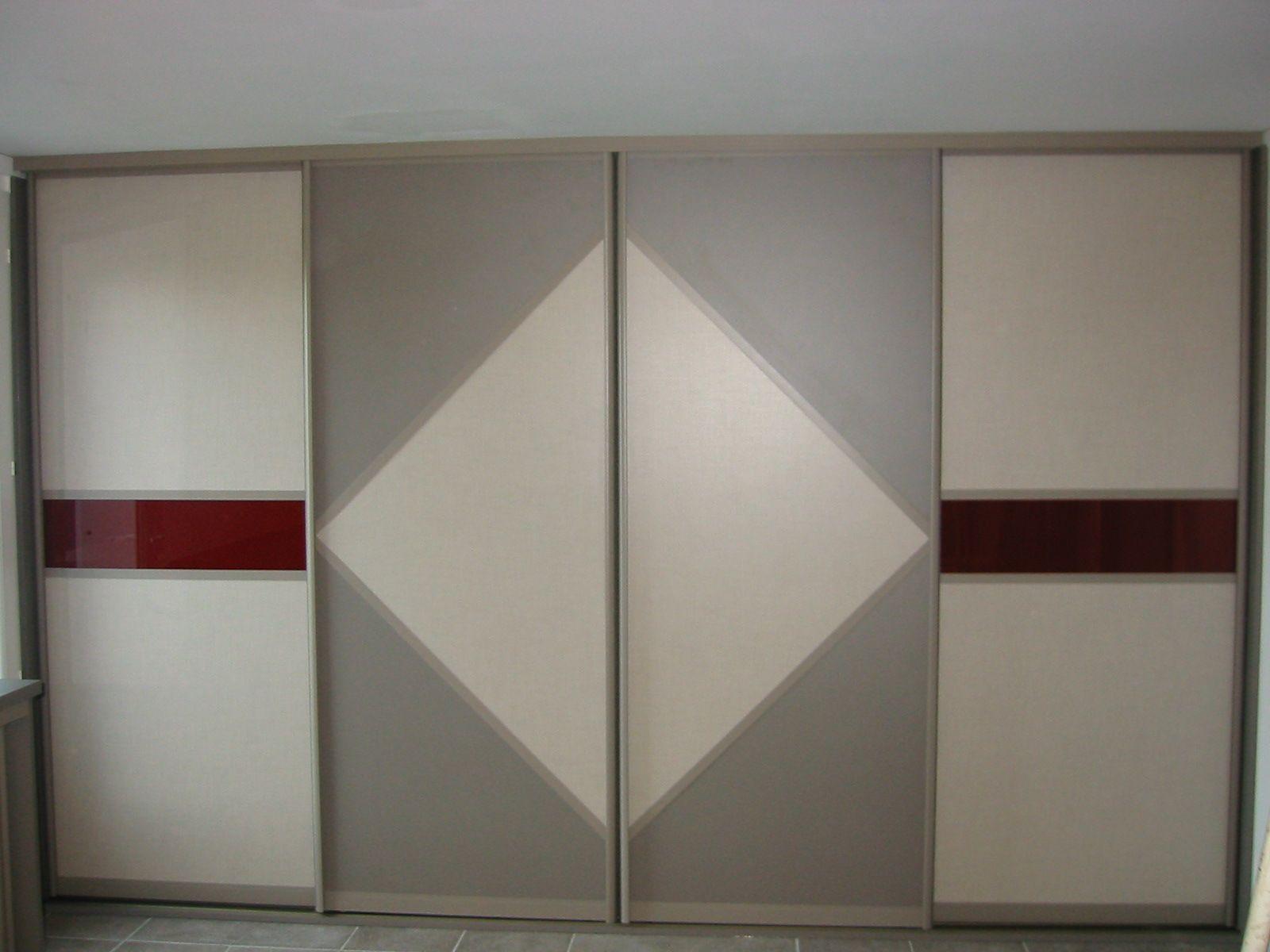Porte de placard  motif géométrique Archea bayonne