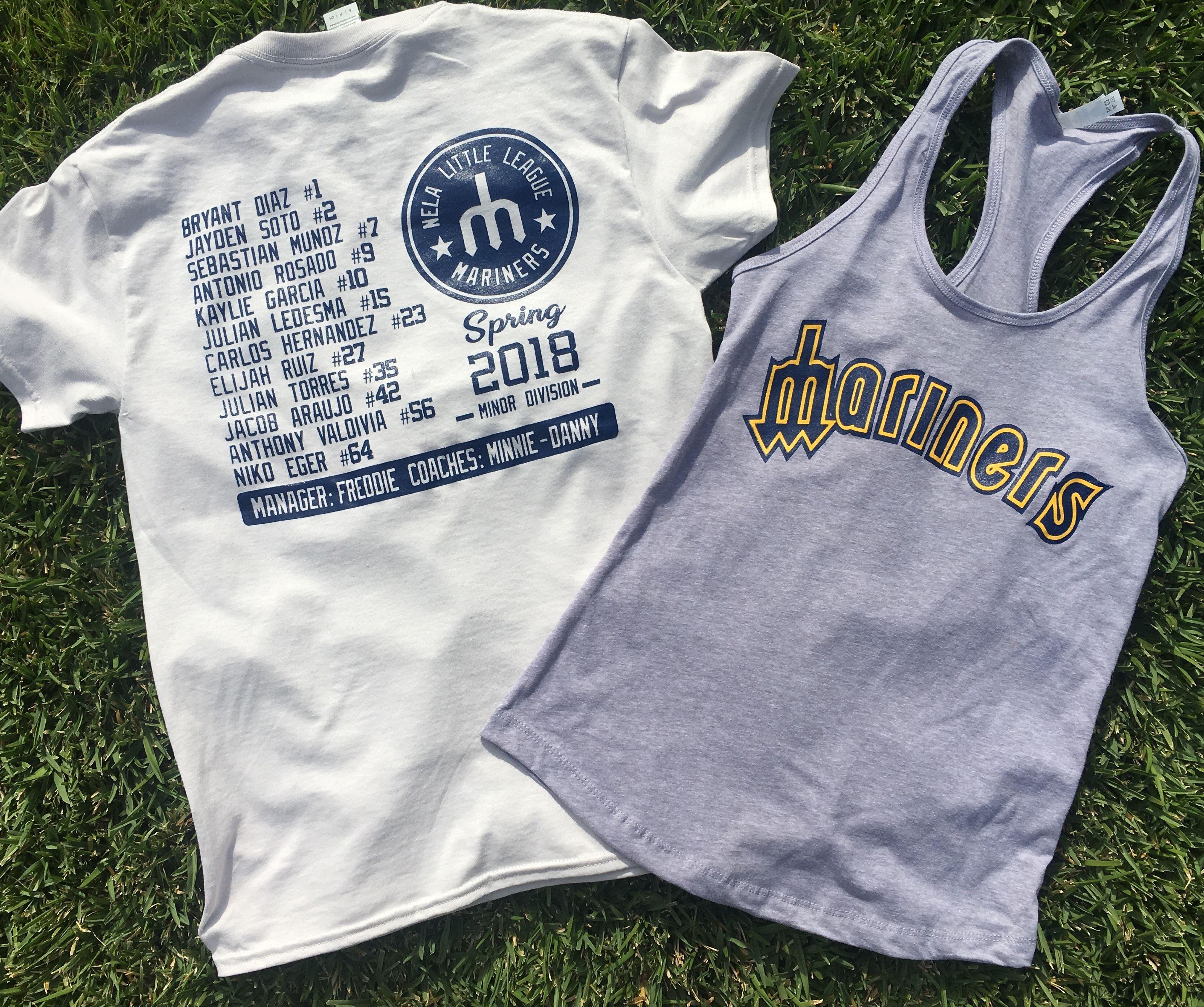 Custom Little League T Shirts Tank Tops Apparel Silkscreen
