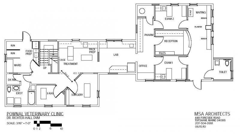 Vet Clinic Floor Plans: Veterinary Clinic Floor Plans L Shaped