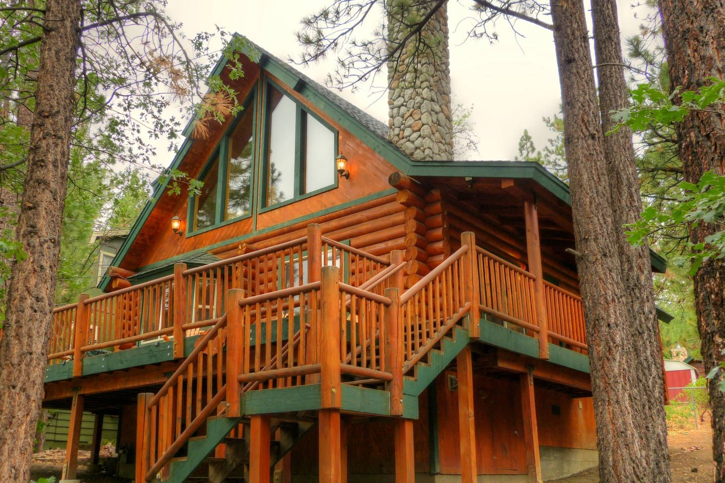 boulder bear cabins log sale r big bay lake for wv