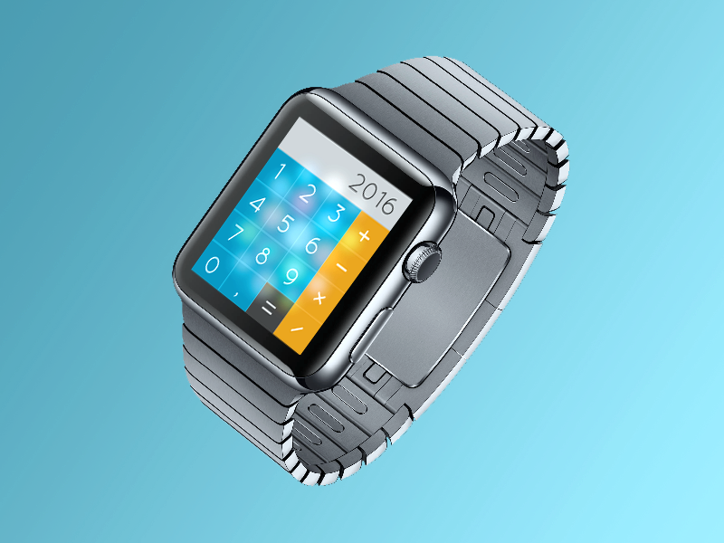 Iwatch Calculator By Thorarinn