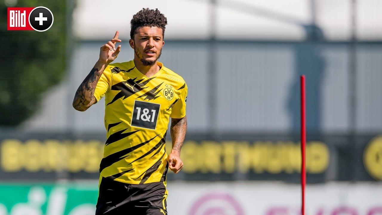 Bvb Jadon Sancho Mit Manchester United Einig In 2020 Dortmund Bvb Dortmund Bvb