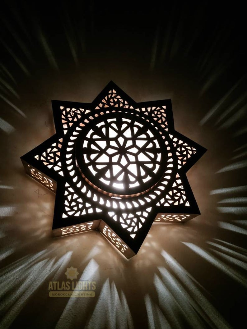 Wall Light Moroccan Wall Light Lampshades Sconce Handmade
