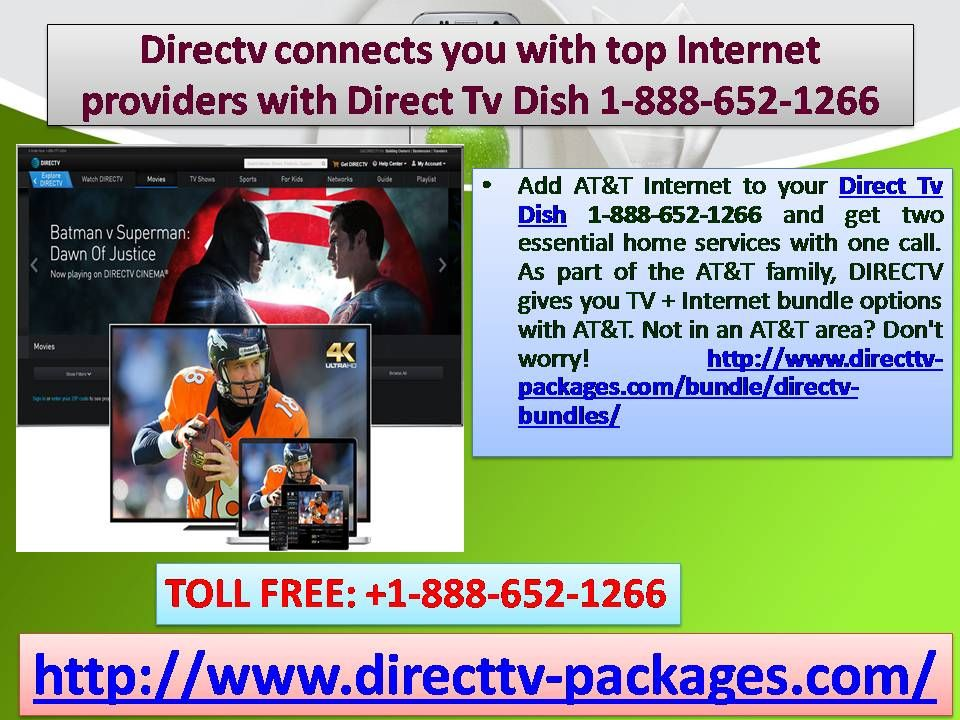 Tv And Internet Providers >> Directv Connects You With Top Internet Providers With Direct