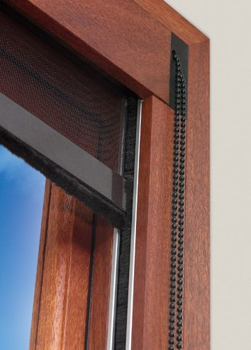 Centor insect screens versatile centor versatile home for Roll up insect screens for windows