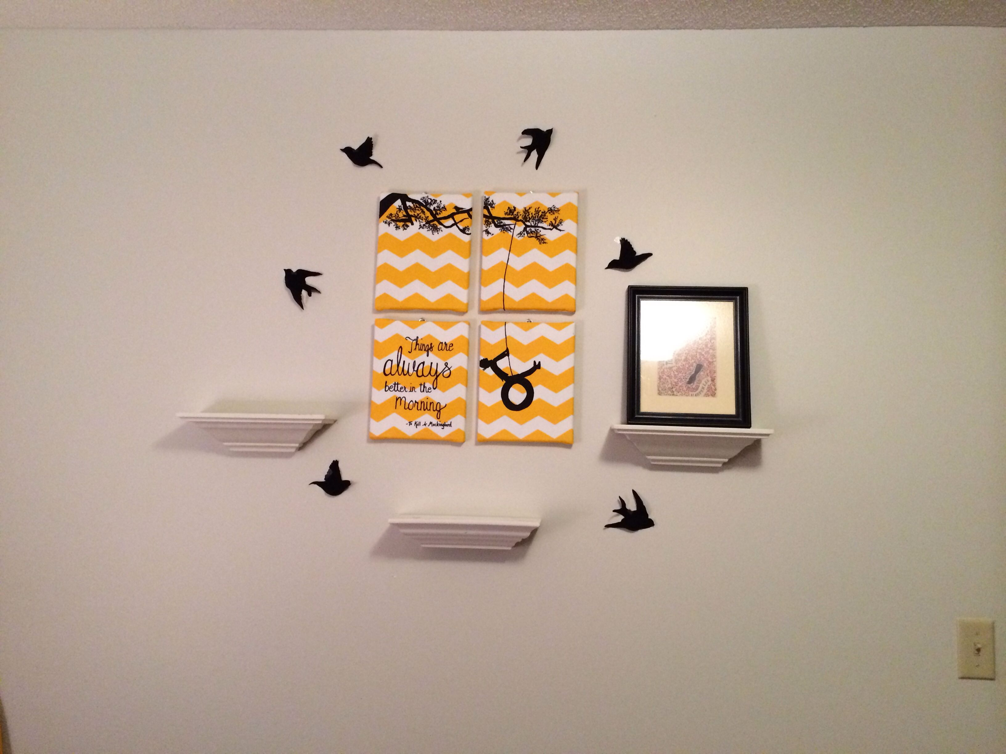 Kill mockingbird scrapbook ideas - Baby Room To Kill A Mockingbird Theme