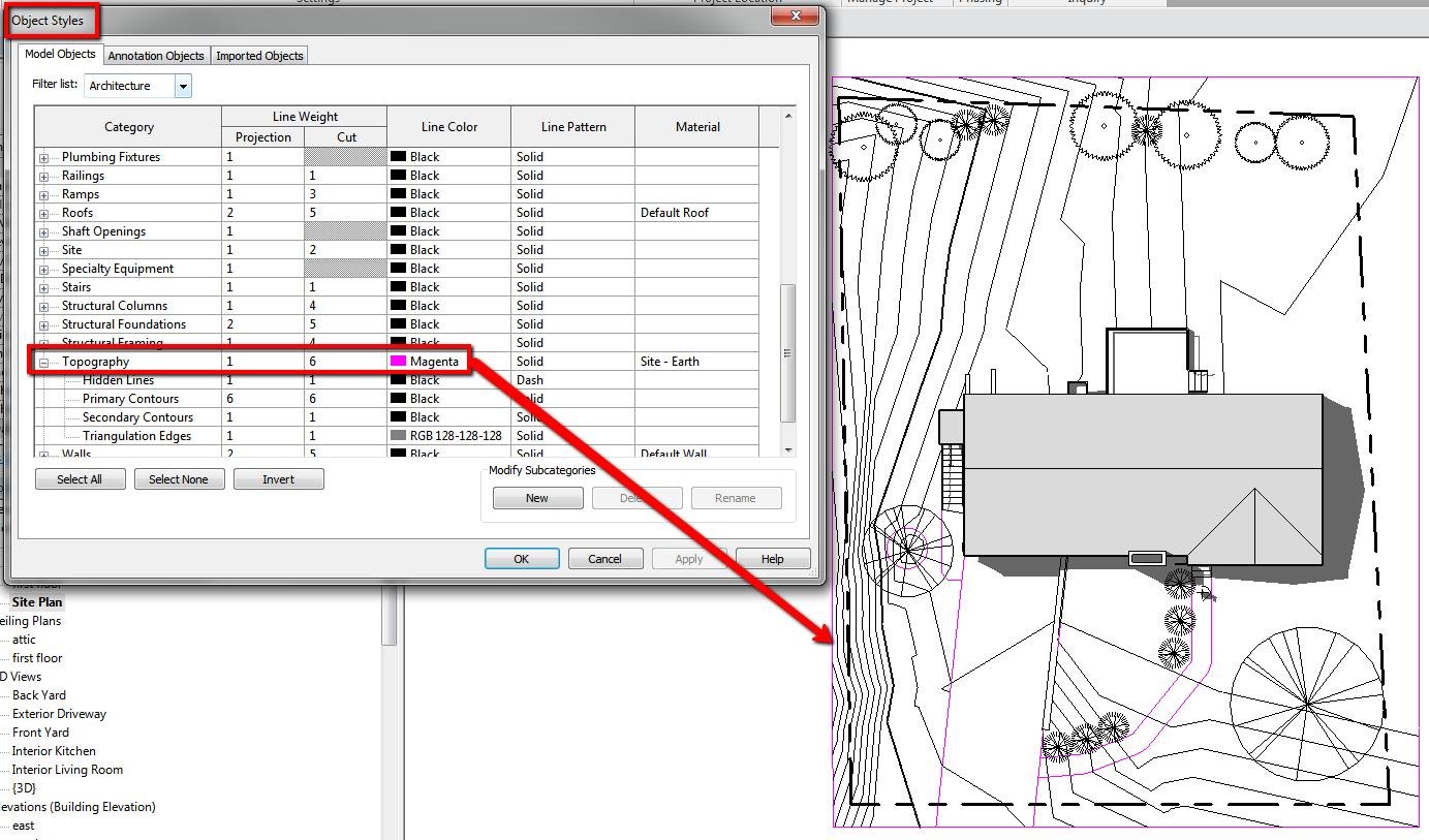 Visibility Of Topographic Surface Edges Revit Lt Revit Architecture Surface Autodesk Revit