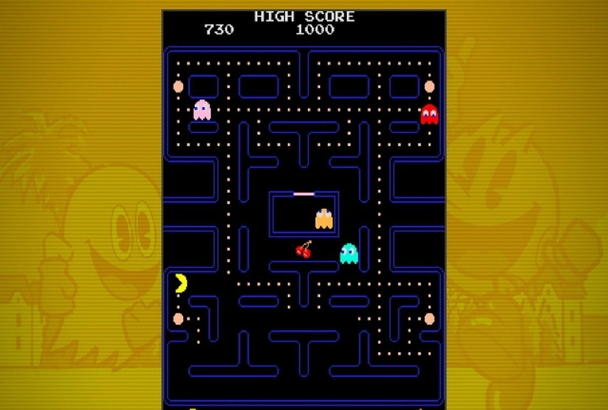 Pac-Man Party....wall art for pacman party | Party inspiration by ...