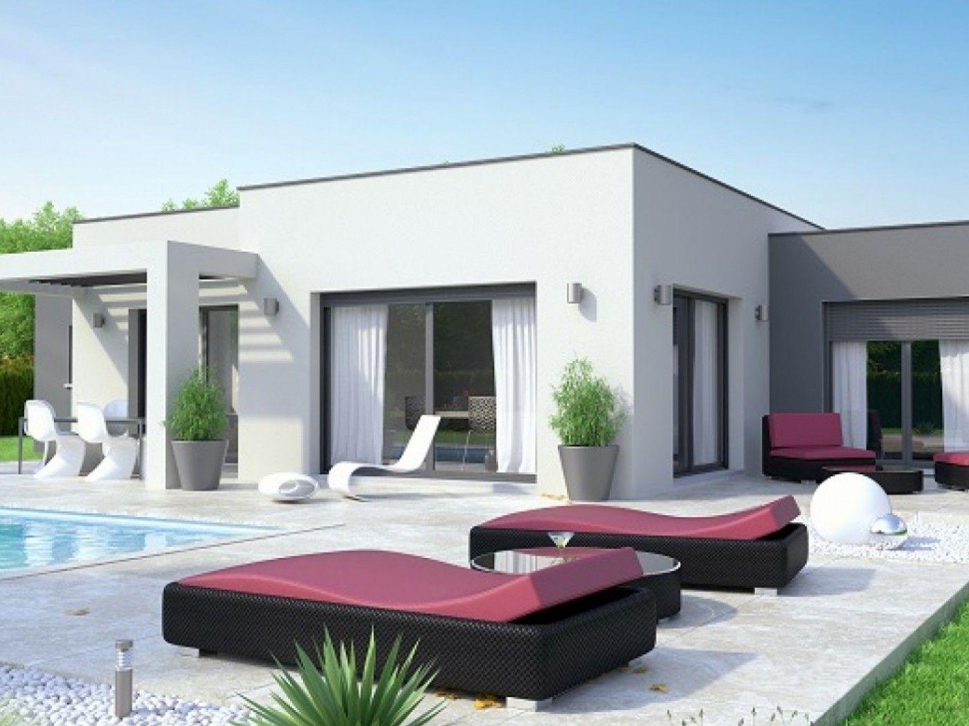 Petite Maison Contemporaine Toit Plat relativ petite maison contemporaine toit plat - maison françois