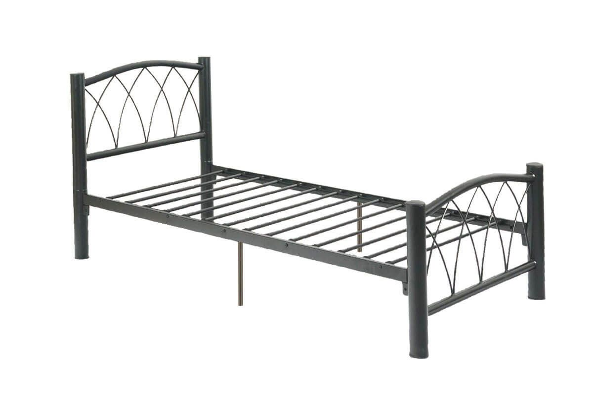 Twin metal bed frame – A simple metal frame may not be expensive ...