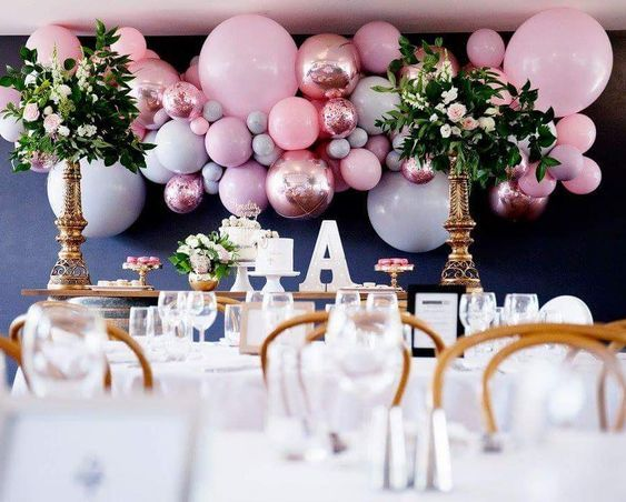 cheap and beautiful balloon party decoration and ideas with balloon arch balloon garland elegant and affordable balloondecor balloondecorations