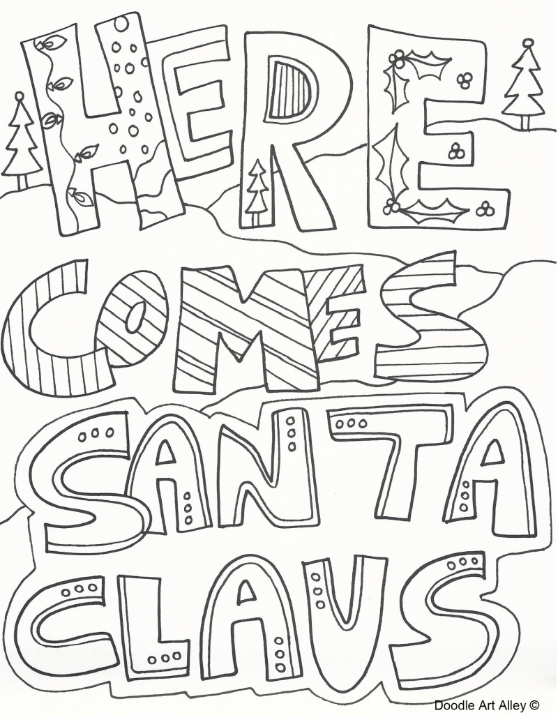 Download and Print FREE Christmas Colouring Pages | Pinterest ...