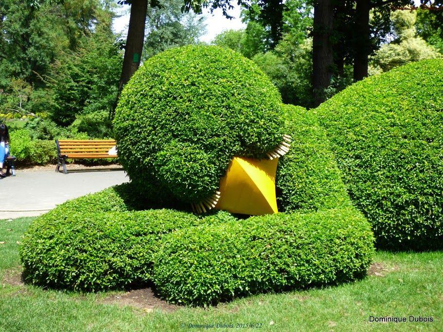 le Poussin du jardin des plantes de Nantes- Claude Ponti ...