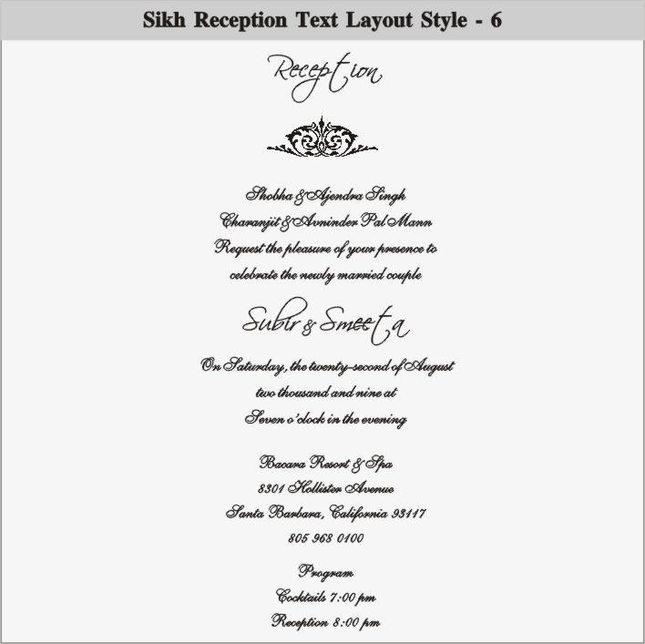 Casual Wedding Invitation Wording Reception Only