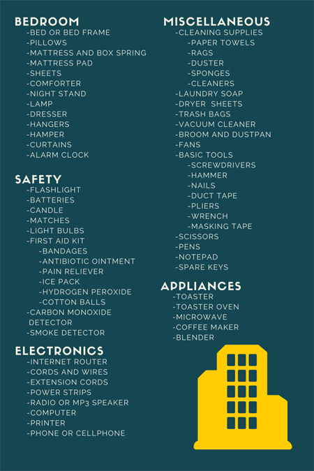 The Perfect Checklist for Your Next Move | Apartment checklist ...
