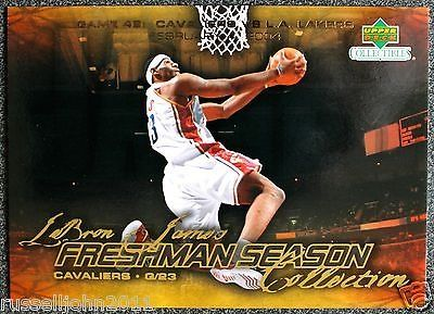 cool 2003-04 UPPERDECK RC LEBRON JAMES ROOKIE REDEMPTION NBA BASKETBALL CARD # 49 - For Sale View more at http://shipperscentral.com/wp/product/2003-04-upperdeck-rc-lebron-james-rookie-redemption-nba-basketball-card-49-for-sale/