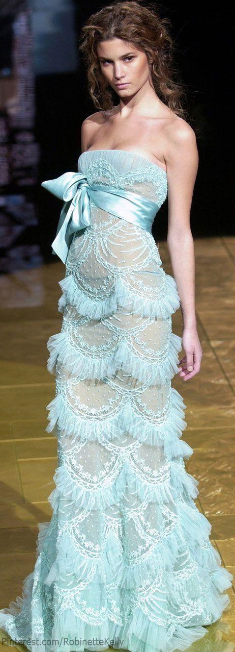 Bevorzugt Elie Saab Haute Couture ✿⊱╮ | Gowns | Pinterest | Haute couture  LW93