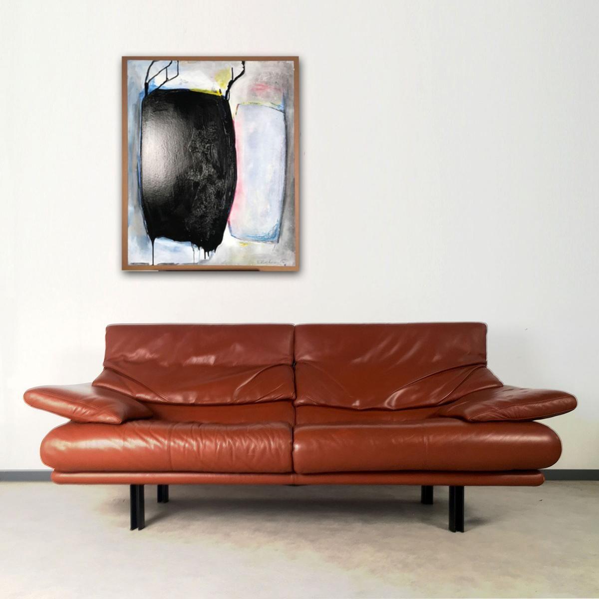 Vintage Alanda Drei Sitzer Sofa Von Paolo Piva Für Bu0026B Italia Coole  Original Retro Vintage Couch Aus Italien Für Das Wohnzimmer