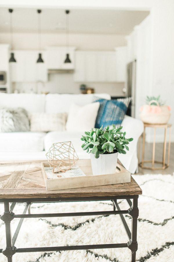 Modern Bohemian California Home Tour Boho chic living room, Chic