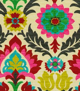 Great Home Decor Print Fabric  Waverly Santa Maria Desert Flower   Enough To Add  Length To