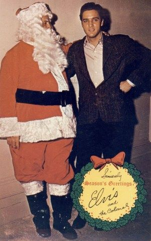 Ho Ho Hollywood Celebrities Visit Santa Elvis Presley Christmas Elvis Presley Elvis
