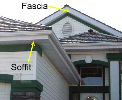 the over all home protection soffit and fascias support our roofs