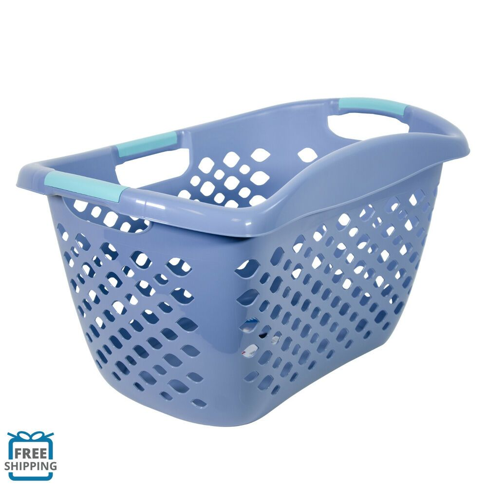 Home Logic Hip Grip Laundry Basket Large 1 8 Bu Hip Hugging Basket