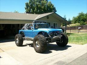 68 Vintage Bronco Desert Racer Pre Runner O O Wheels Whoa