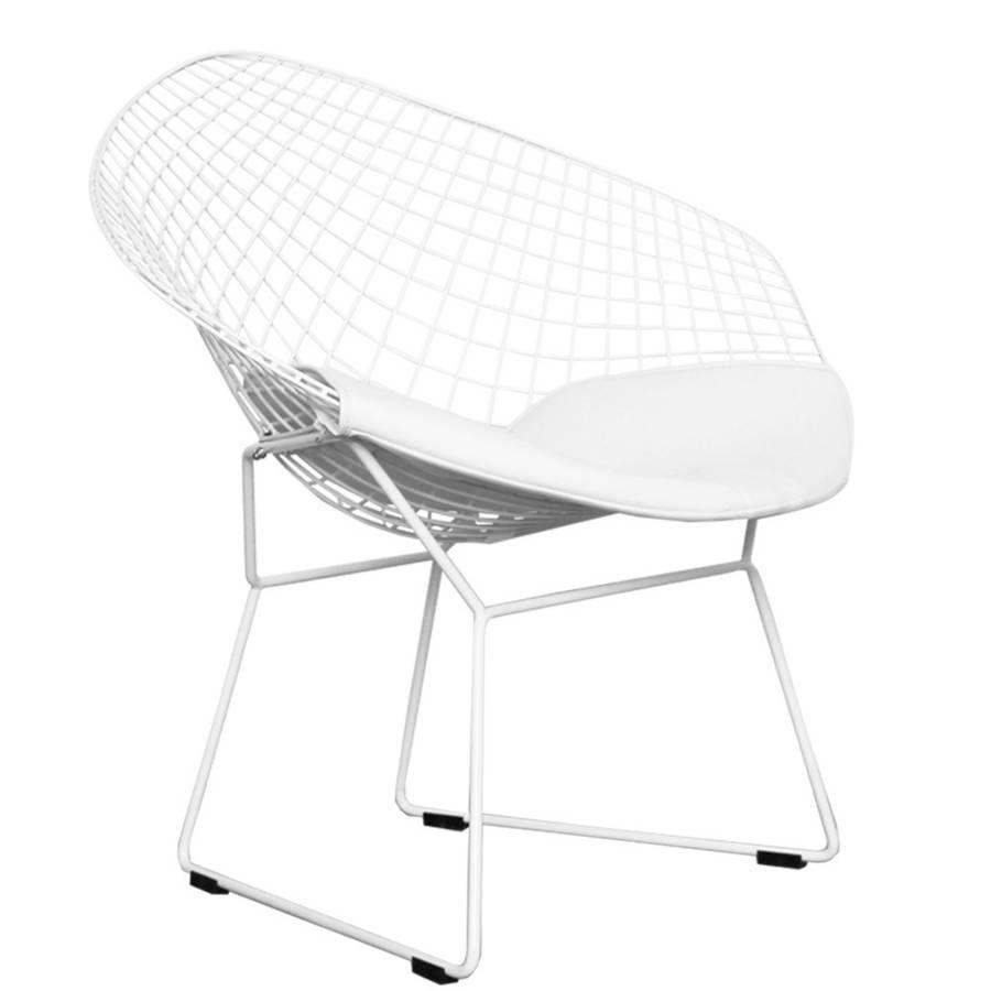 bertoia style chair. A Black Or Chrome Diamond Retro Modern Mesh Chair Bertoia Style