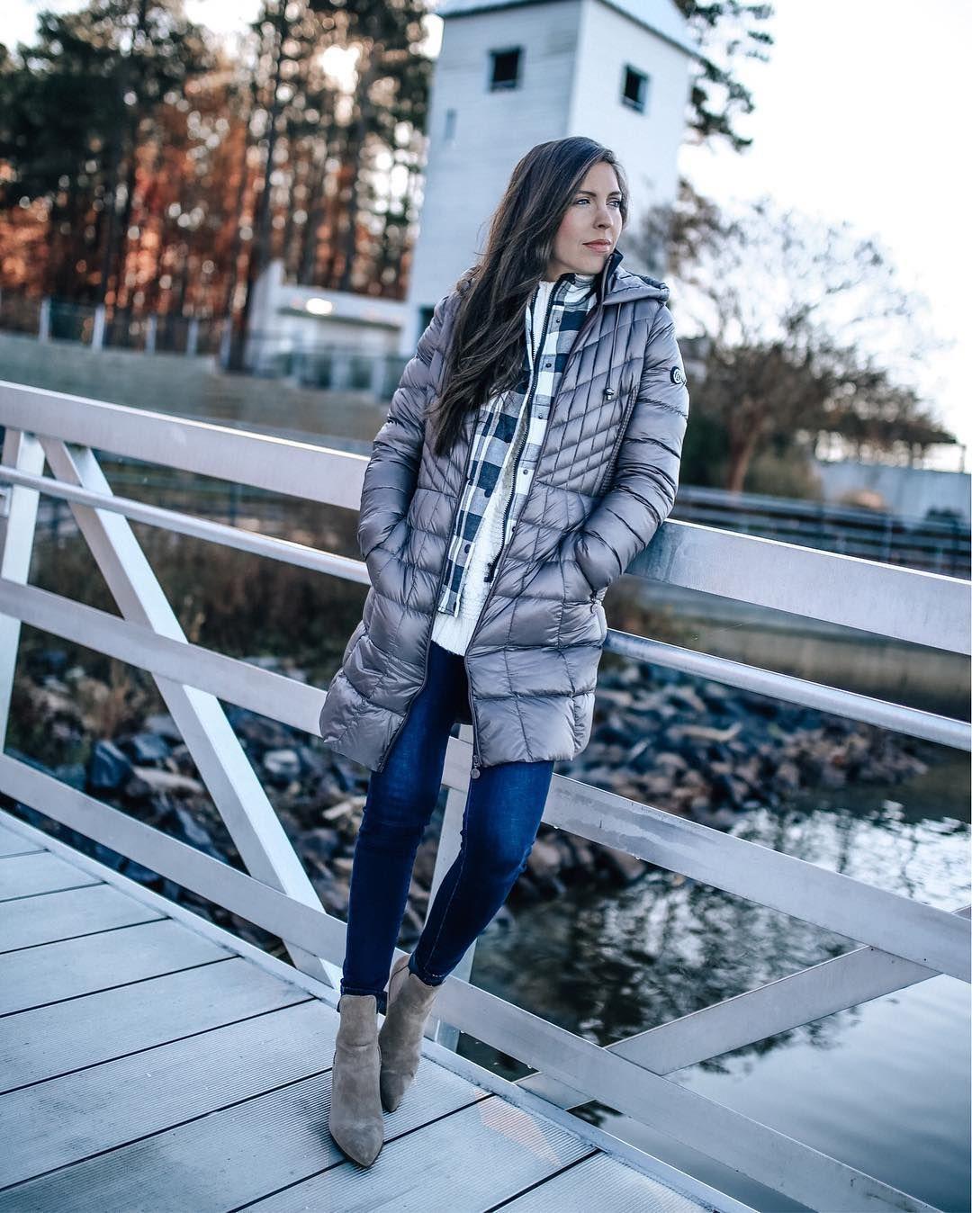 Bernardo Down Primaloft Coat Regular Petite Nordstrom Puffer Jacket Outfit Quilted Outerwear Coat [ 1348 x 1080 Pixel ]