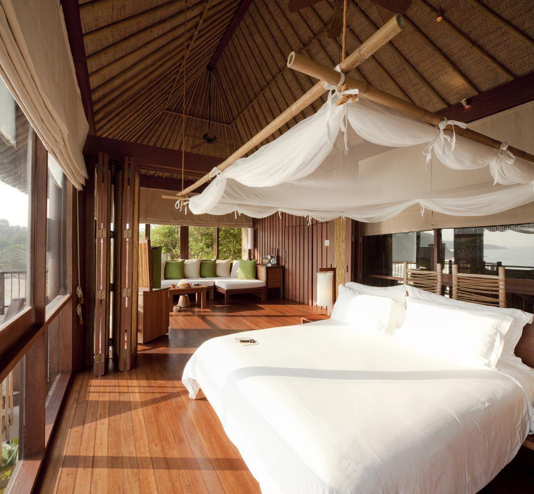 Six Senses Samui Thailand Stylish bedroom design