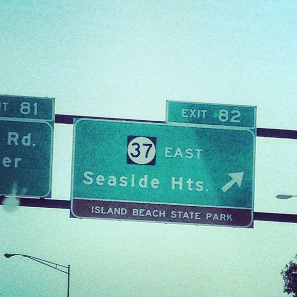 Island Beach State Park Nj: Yay! We're Almost There!!!!!! Woooooot (what I Thought